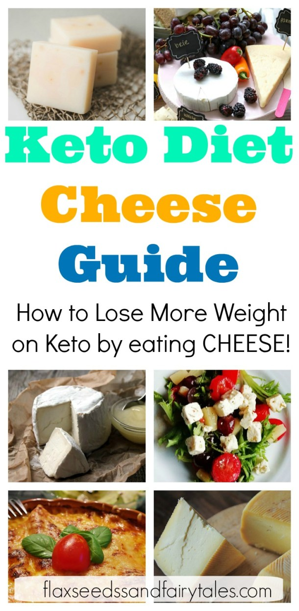 Lose more weight on keto by eating CHEESE! This Ultimate Keto Cheese Guide has all the best low carb cheese for the ketogenic diet that won't kick you out of ketosis. #lowcarbcheese #ketocheese #ketodiet
