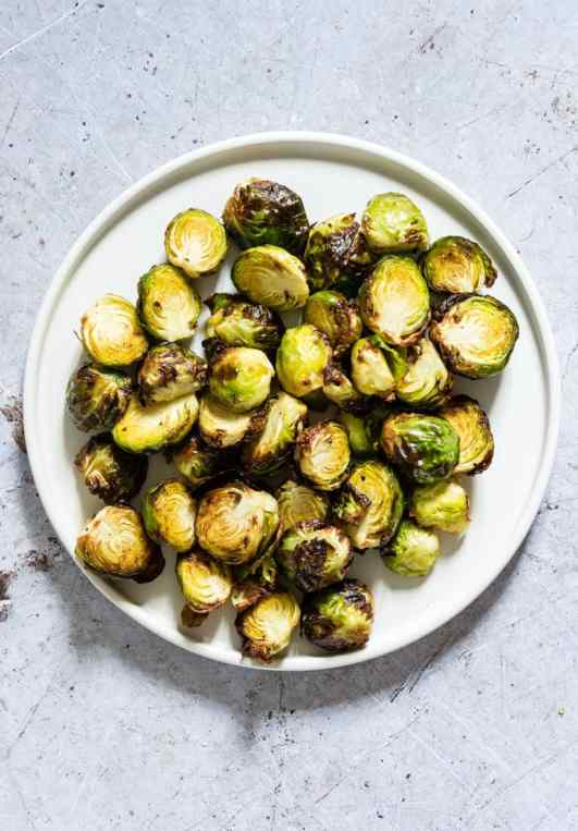 This is a great vegan keto recipe for veggies in the air fryer!