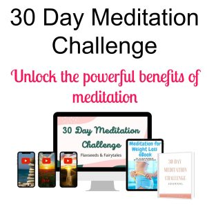 All the materials included in the 30 Day Meditation Challenge