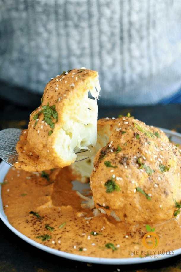 Easy keto instant pot cauliflower recipe for beginners