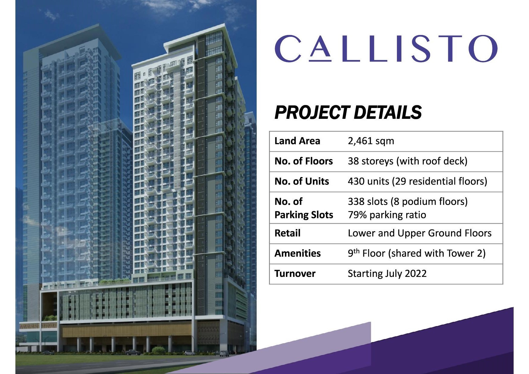 Image result for callisto tower