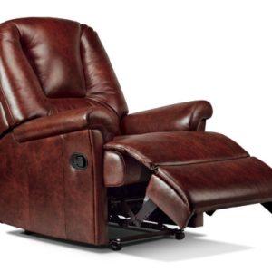 Milburn Standard Leather Recliner