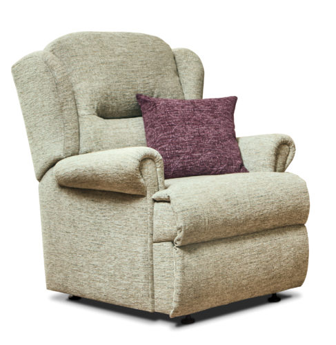 Malvern small fabric fixed chair f l caswell ltd for Small fabric chair
