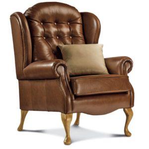 Lynton Standard Leather Fireside Chair