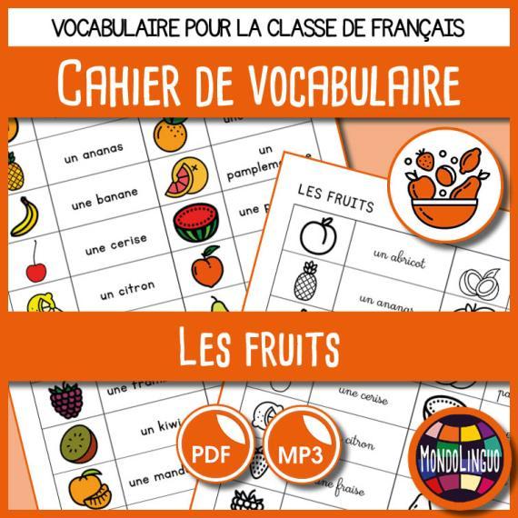 MondoLinguo-CahierVocabulaire-Fruits-Visuel