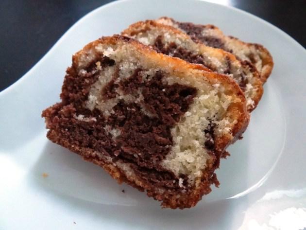 Fleanette's Kitchen - Gateau marbré au chocolat