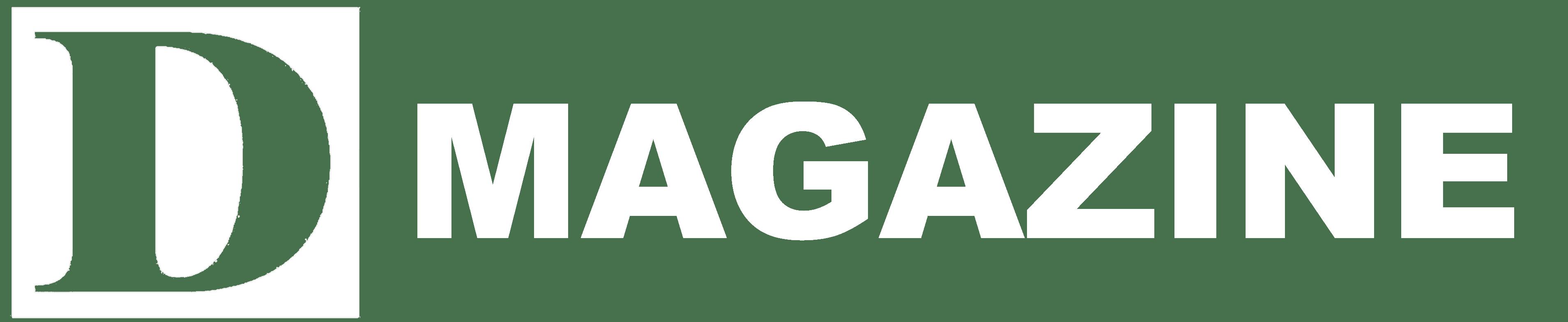 White D Magazine PNG Logo
