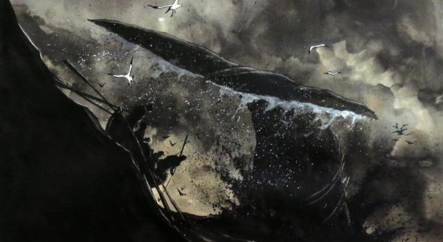Moby Dick, novela gráfica por Chabouté