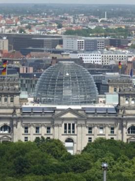 Reichstag von oben