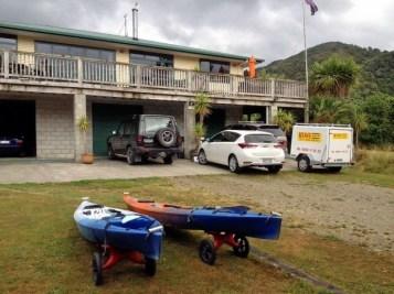 Anakiwa Lodge Kayak