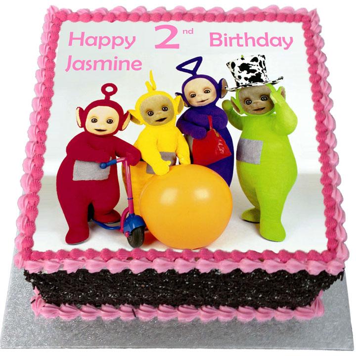 Teletubbies Birthday Cake Flecks Cakes