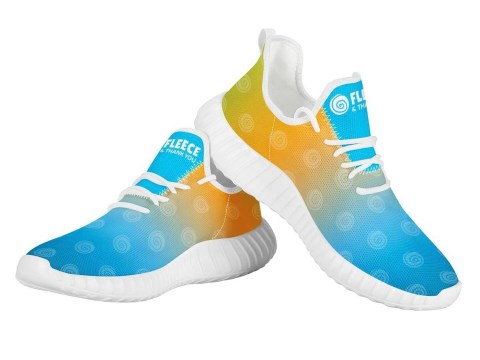 FTY Multicolored Shoes w/ Small Swirls