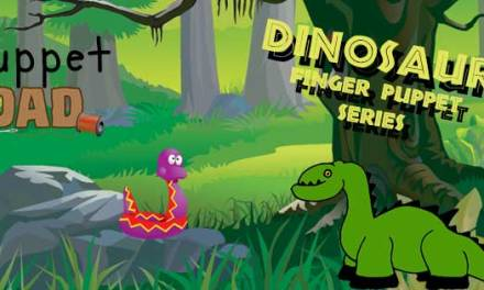 Dinosaur Finger Puppets – Your craft resource