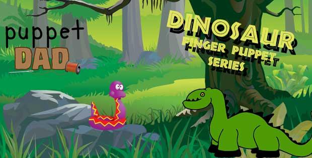 Dinosaur Finger Puppets – Part 6