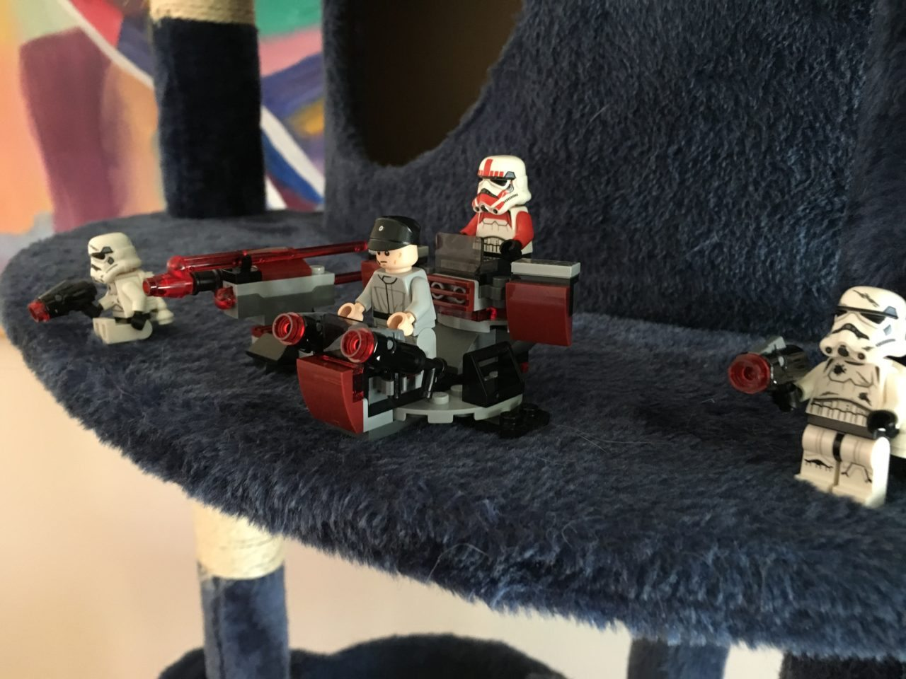 Imperial Attack Underway! Star Wars Legos Fun