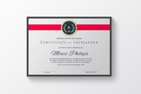 Certificate   Fleek Templates   The Best Microsoft Office Templates     A modern professional Corporate Certificate Template  designed in Microsoft  Word  Suitable for use in all types of businesses  company or institution  in