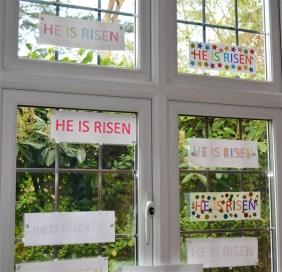 'He is Risen' Window 1