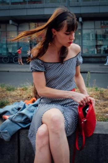 Girl   Berlin Hermannplatz 2015