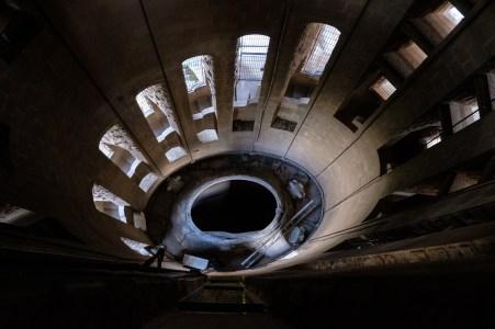 Tower of Passion at Sagrada Familia