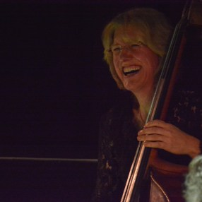 Marianne Windham at Fleet Jazz on 21st March 2017. Photograph courtesy of David Fisher (Aldershot, Farnham & Fleet Camera Club)