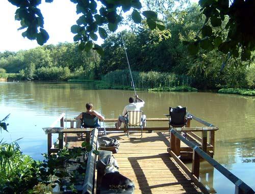 Fishing At Fleet Pond (1/2)