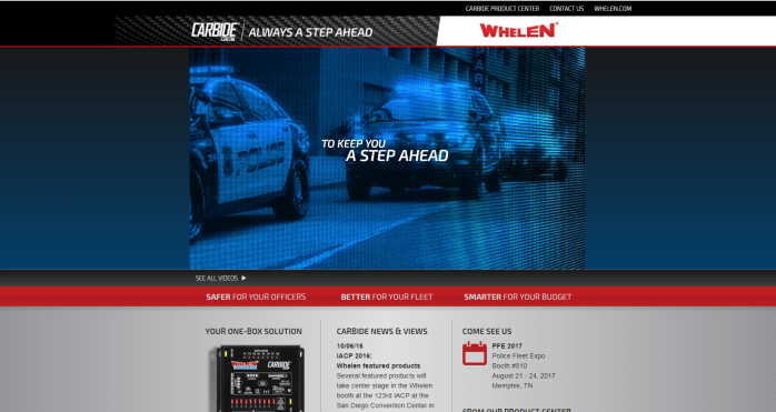 Whelen Fleet Reps Carbide