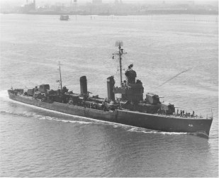 USS Benson DD-421