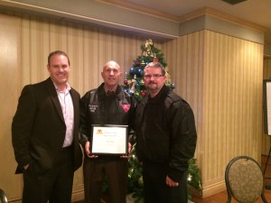 Mike Wright Toronto FSC Driver Trainer of the Year 2015