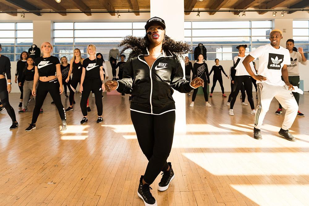 celebrity choreographer Tanisha Scott