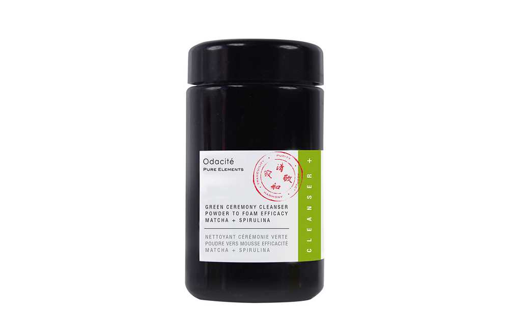 Odacité green tea cleanser
