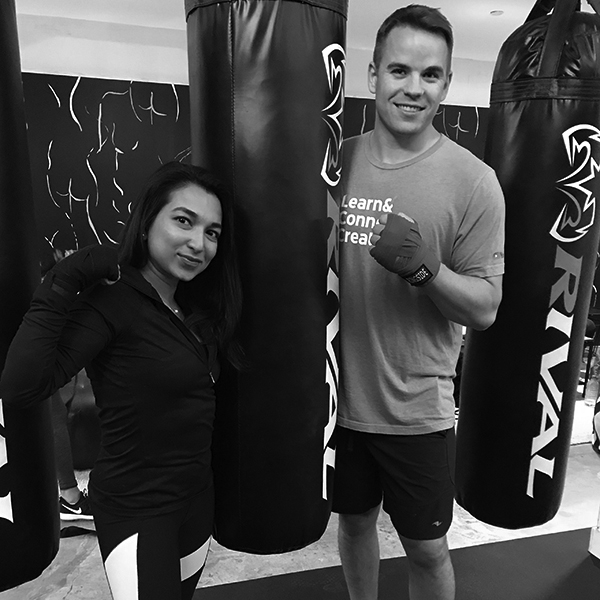 Fit Date: We Sent Two Single Strangers to Boxing Class—Will They HIIT It Off?