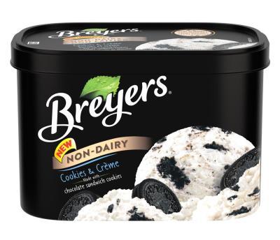 Breyers Non-Dairy Cookies & Crème
