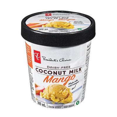 President's Choice Dairy-Free Coconut Milk Mango