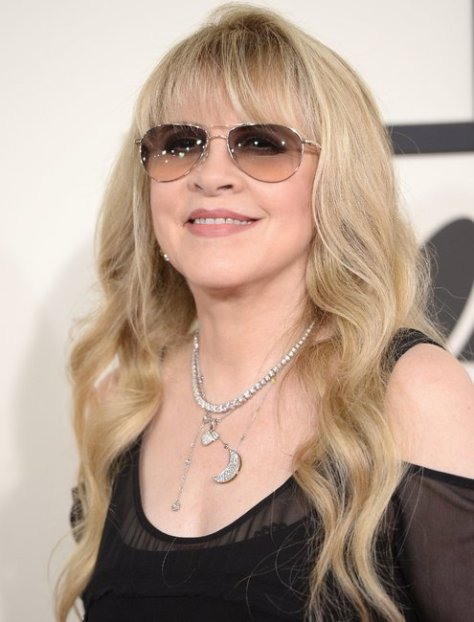 """Stevie Nicks: """"If I've learned nothing else it's that time passes and anger doesn't do you much good."""" Here, arriving at the Grammy Awards ceremony in January. Robyn Beck/Agence France-Presse — Getty Images"""
