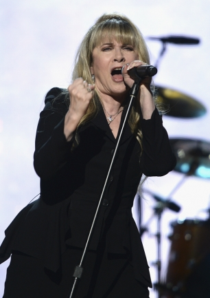 Stevie Nicks performs at the 29th Annual Rock And Roll Hall Of Fame Induction Ceremony. Dimitrios Kambouris/WireImage for Rock and Roll Hall of Fame