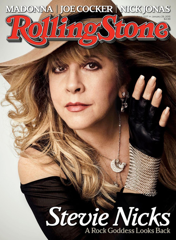 Stevie Nicks A Rock Goddess Looks Back Rolling Stone