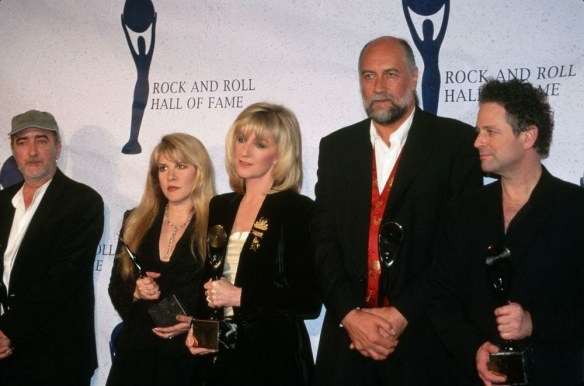 1998 FLEETWOOD MAC ROCK AND ROLL HALL OF FAME 1