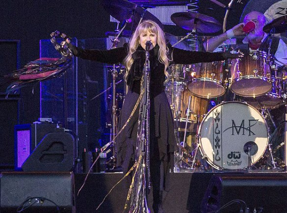 Stevie Nicks of Fleetwood Mac (Rex)