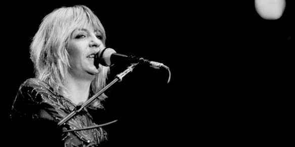 Christine McVie performing in LA in 1979, at the height of Fleetwood Mac's fame.