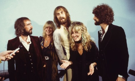 McVie (second from left) with the rest of Fleetwood Mac, 1975. Photograph: Sam Emerson