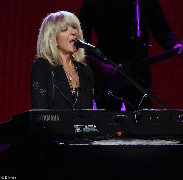 Back to it: All five leading members of the group - Mick Fleetwood, John McVie, Stevie Nicks, Lindsey Buckingham and Christine McVie (Pictured), are on the tour