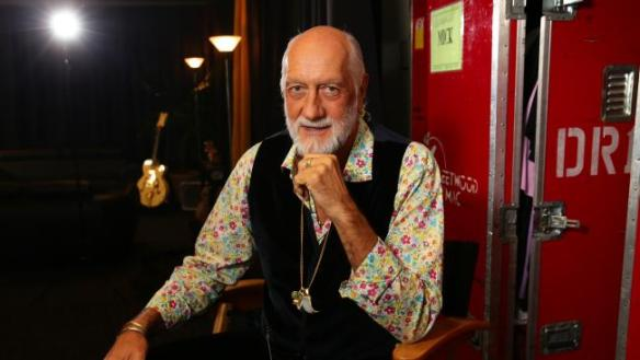 Mick Fleetwood at Allphones ahead of Fleetwood Mac tour. Picture: Cameron Richardson