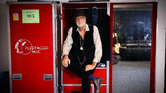 Mick Fleetwood in Sydney after paying tribute to a 'bunch of wonderful, crazy people, present and past, that have come through Fleetwood Mac'. Picture: Renee Nowytarger Source: News Corp Australia