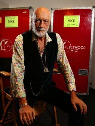 "Mick Fleetwood: ""Those days are long gone.'' Picture: Cameron Richardson"