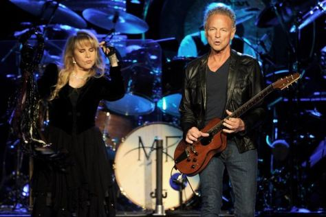 Fleetwood back: Stevie Nicks and Lindsey Buckingham