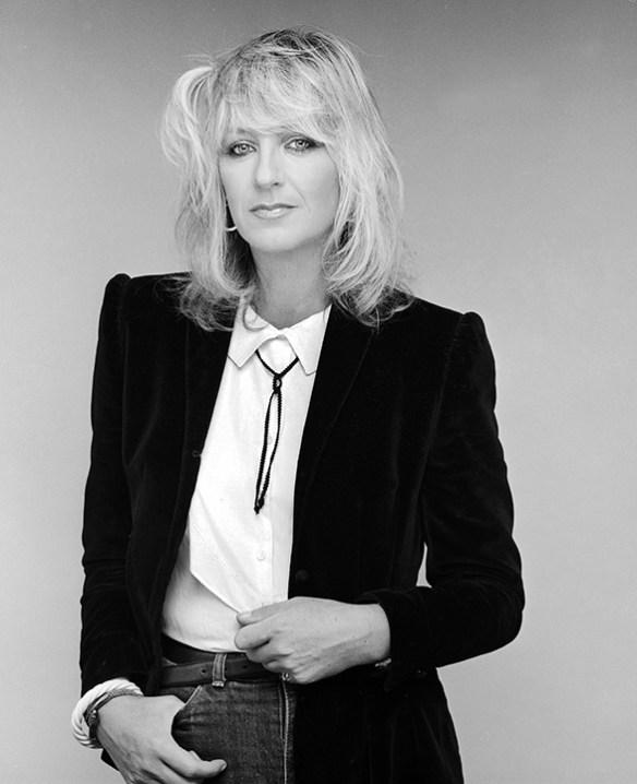 EXCLUSIVE Circa 1984 - Los Angeles, California, United States: Christine McVie - Rock band Fleetwood Mac. (Sam Emerson/Polaris) ///
