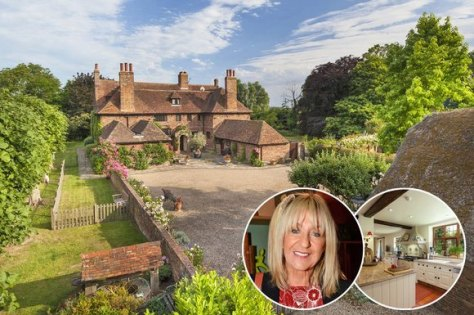 Million-pound drop: Christine McVie has reduced the price of her Kent home to £2.5m
