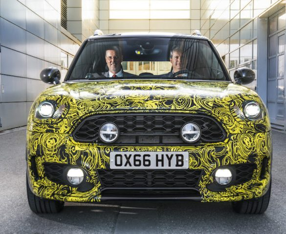 """MINI hints at """"near-series"""" plug-in hybrid crossover"""