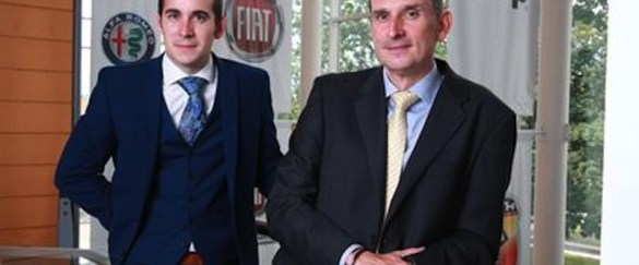 Mike Miles and Robert English of FCA UK