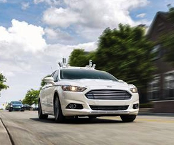 Ford to mass-produce driverless cars for ride sharing in 2021